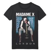 MADAME X TOUR - OFFICIAL LONDON ONLY EXCLUSIVE T-SHIRT